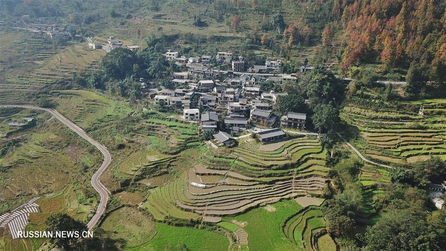 Преображение бедной деревни в провинции Гуйчжоу