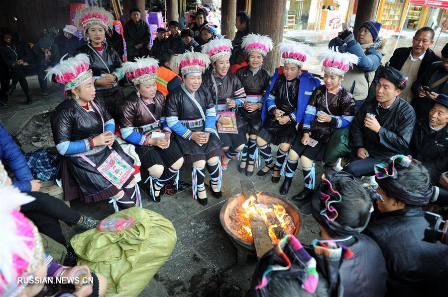 Дунский новый год в уезде Липин