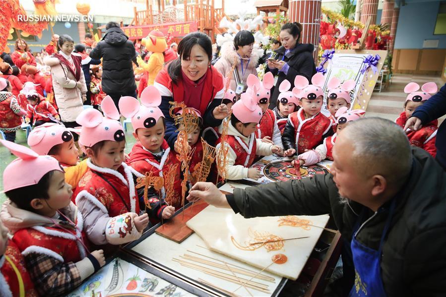 Детские сады Чунцина ждут Новый год