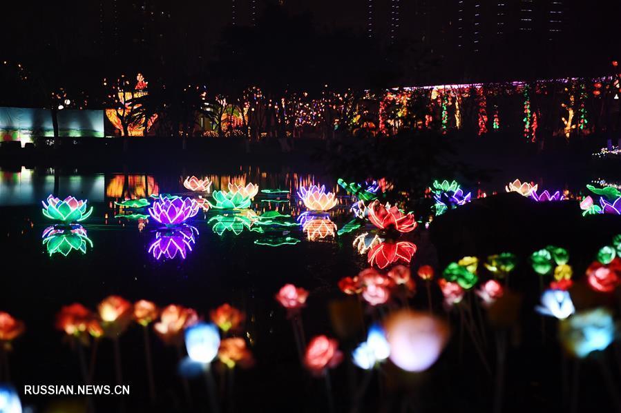 В Чунцине открылся 1-й Тунлянский художественный фестиваль китайских фонарей-драконов