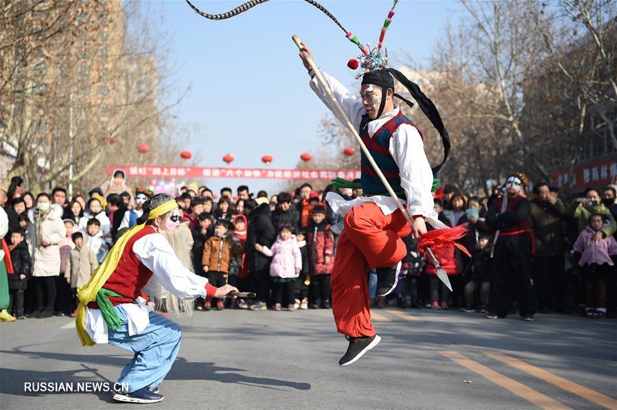 В Китае встречают Праздник фонарей