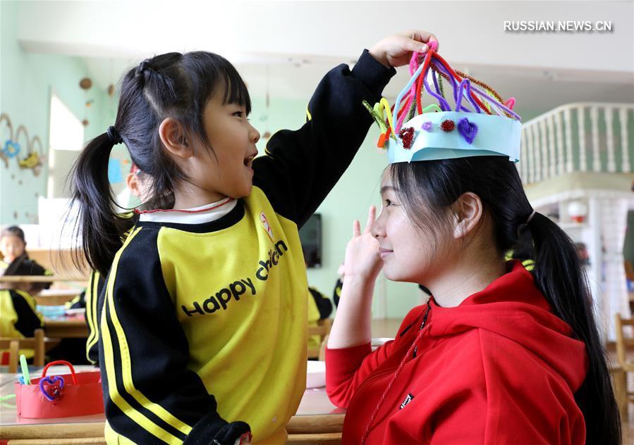 В Китае отмечают 8 Марта