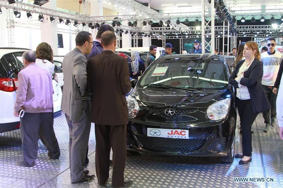 (XHDW)(1)阿尔及尔国际车展:中国汽车引人注目