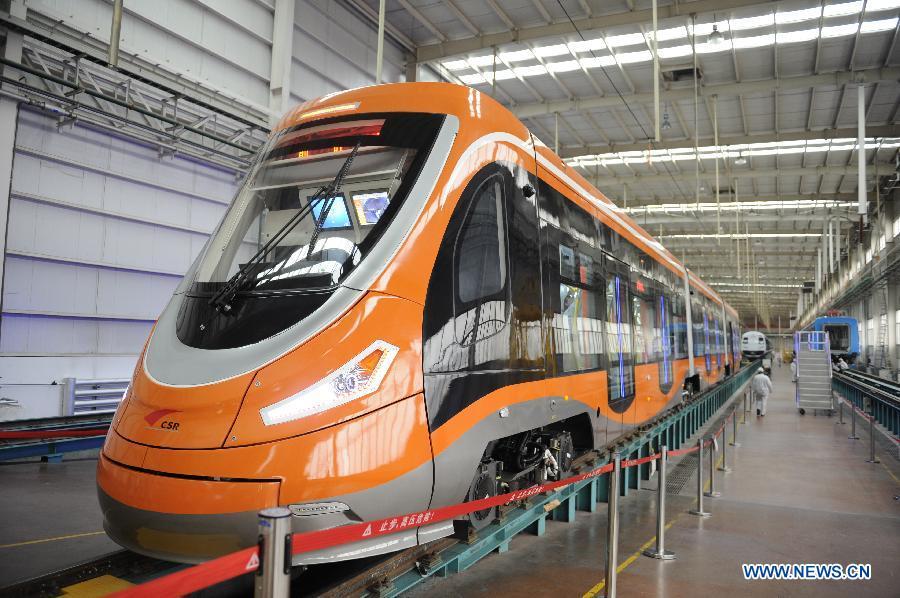 Китайская компания CSR Sifang завершила создание первого в мире