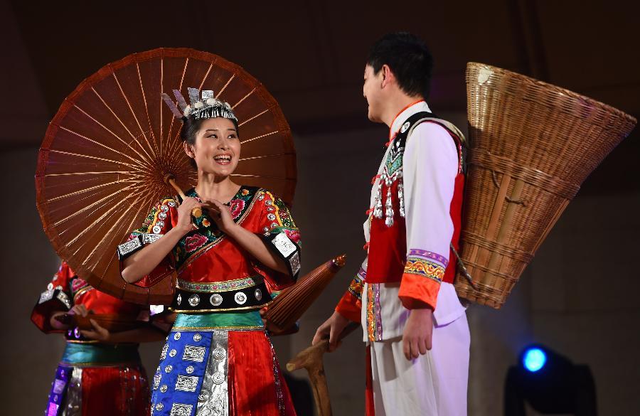 (文化)(2)中国少数民族戏剧会演在京开幕