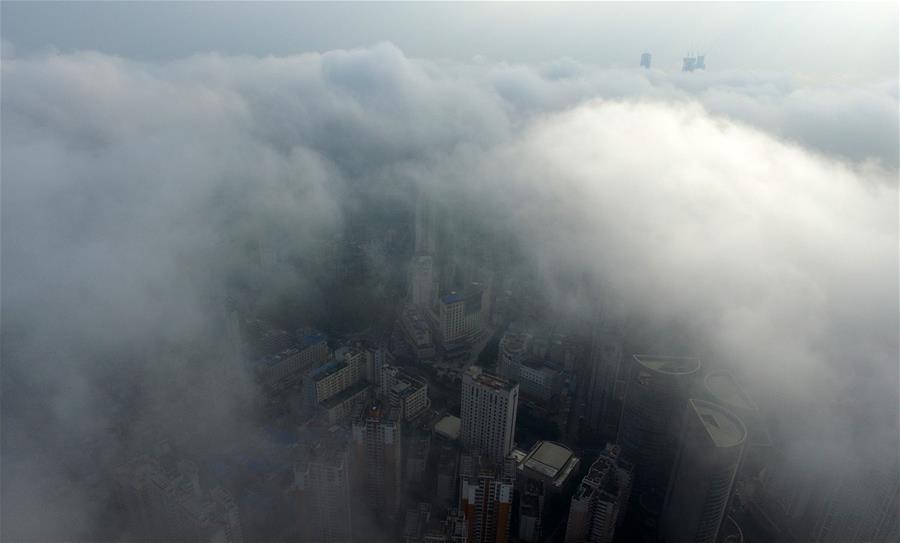 CHINA-GUANGXI-FOG (CN)