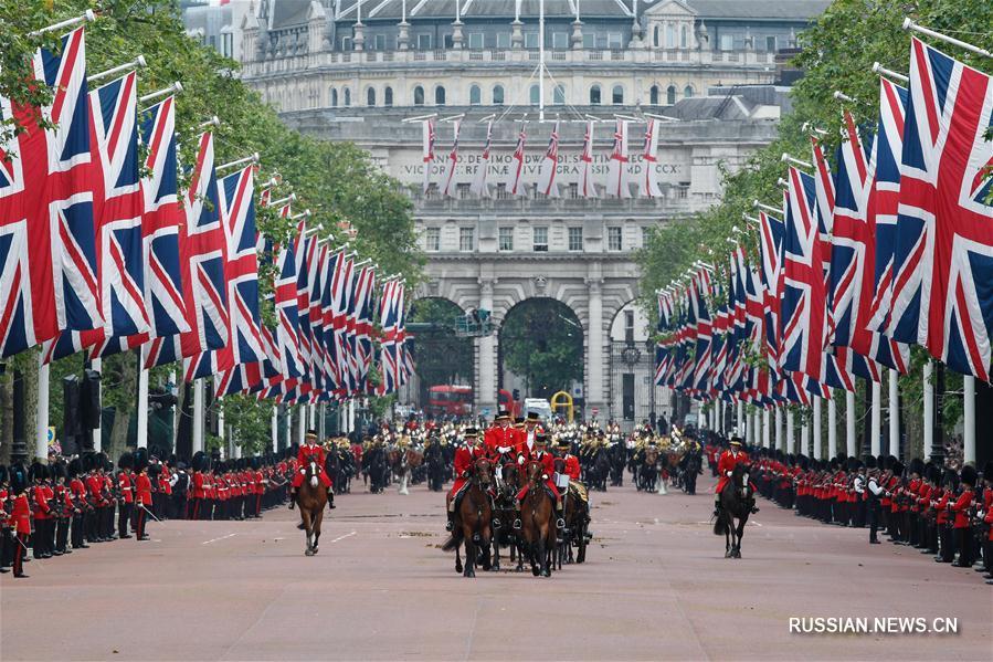 Торжества в честь 90-летия Елизаветы II состоялись в Лондоне