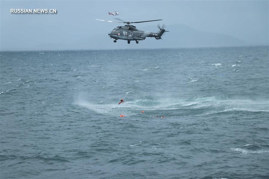 На юге Китая затонул сухогруз, все 12 членов экипажа спасены