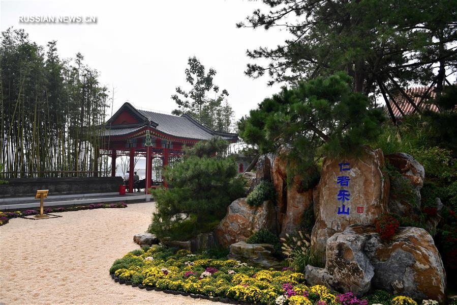 Открытие 11-й Китайской международной ярмарки садово-паркового искусства в г. Чжэнчжоу