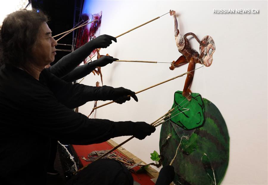 Старинное искусство театра теней в провинции Хэбэй