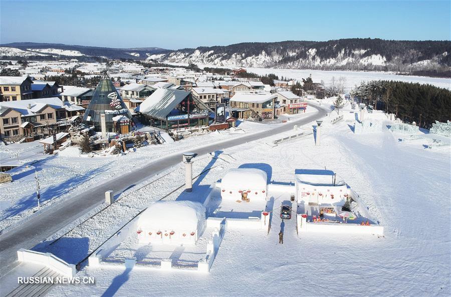 """Зимний туристический бум на """"крайнем севере"""" Китая"""