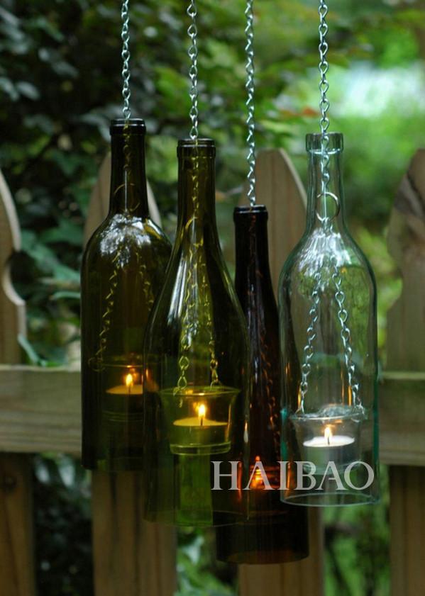 Стеклянные бутылки своими руками фото