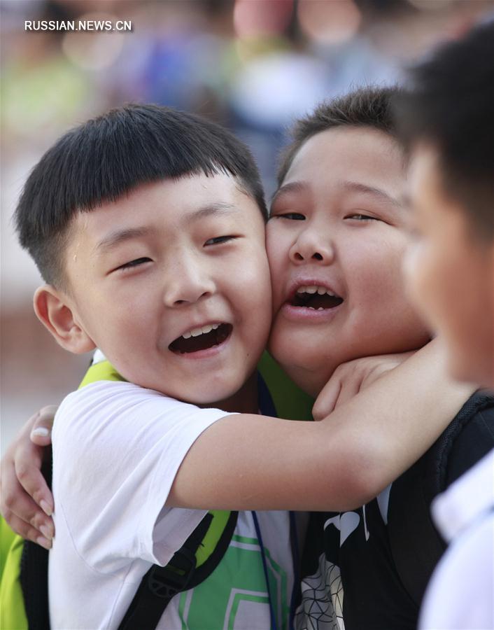 Первое сентября в китайских школах