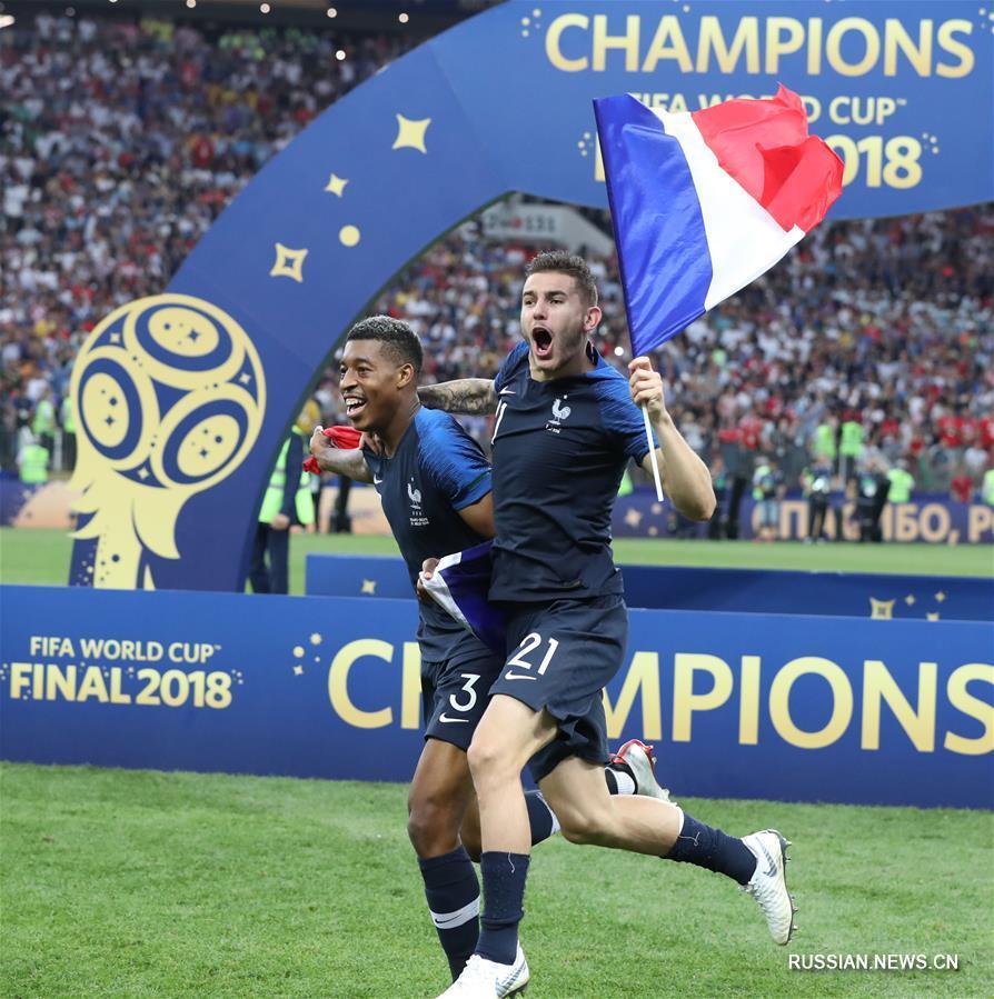 Футбол франция финал