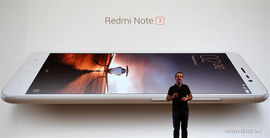(国际)(1)小米在印度发布新款手机