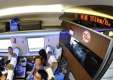 На китайские железные дороги вернулась рекордная скорость