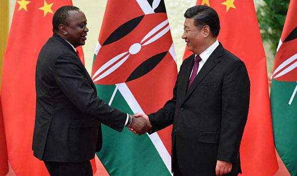 Си Цзиньпин встретился с президентом Кении У.Кениятой
