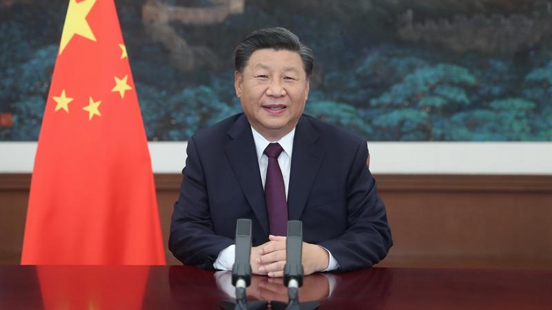 Си Цзиньпин выступает с речью на Китайской международной ярмарке торговли услугами