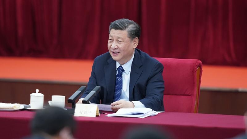 Си Цзиньпин посетил членов ВК НПКСК и принял участие в их панельной дискуссии