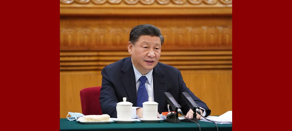 Си Цзиньпин принял участие в обсуждении с депутатами от провинции Цинхай в рамках 4-й сессии ВСНП 13-го созыва