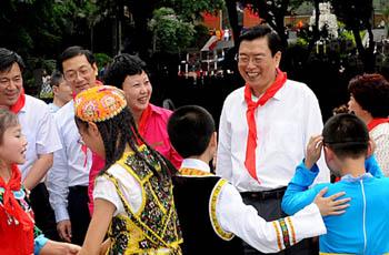 """Чжан Дэцзян: """"Народ должен быть всегда в наших сердцах"""""""