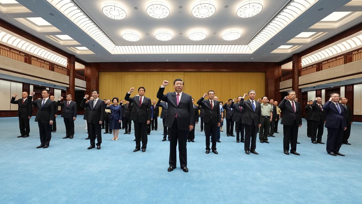 Си Цзиньпин подчеркнул необходимость черпать силы из истории борьбы КПК для поступательного движения