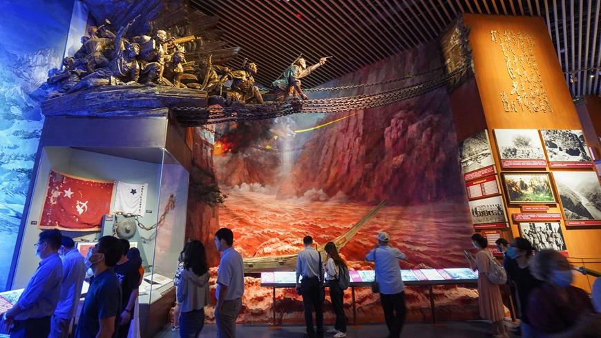 Музей истории Коммунистической партии Китая открыт для публики