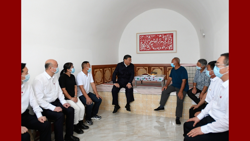 Си Цзиньпин совершил инспекционную поездку в уезд Суйдэ на северо-западе Китая