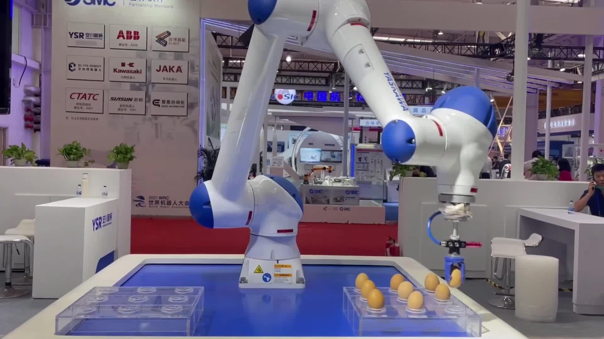Вечеринка роботов в Пекине