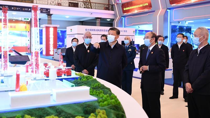 Си Цзиньпин призвал прилагать больше усилий для укрепления Китая как научно-технологической державы