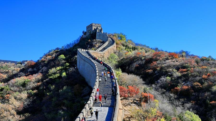 Октябрьские виды участка Бадалин Великой Китайской стены