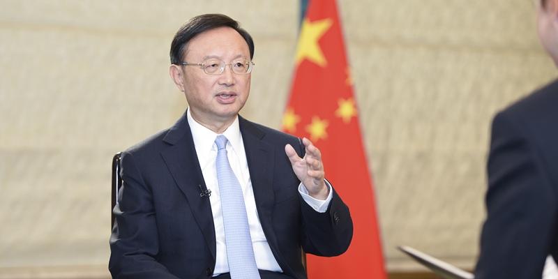 """Ян Цзечи дал интервью центральным СМИ Китая по так называемоиму """"решению"""" международного арбитража по Южно-Китайскому морю"""