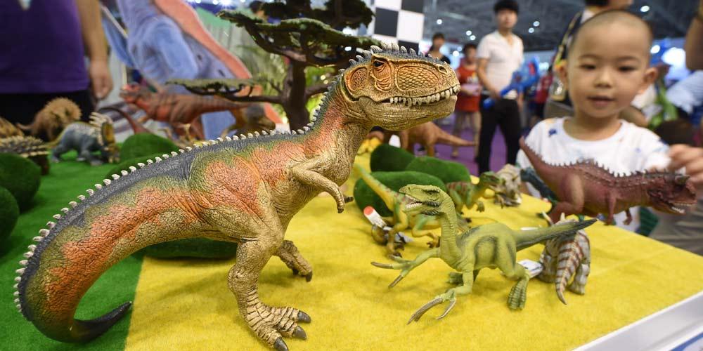 Международная ярмарка игрушек открылась в Пекине