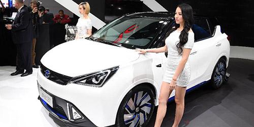 На автошоу в Детройте представлены новинки китайской компании GAC