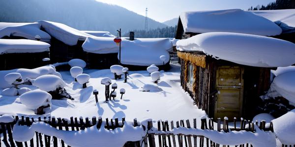 Зимний туризм в провинции Хэйлунцзян