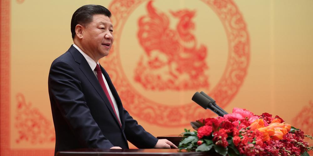 Си Цзиньпин поздравил китайцев с наступающим праздником Весны