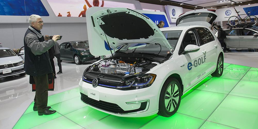 """""""Зеленые"""" технологии на автосалоне в Торонто"""