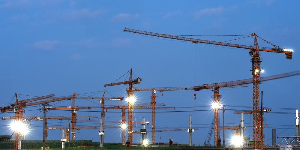 Продолжается строительство нового пекинского аэропорта