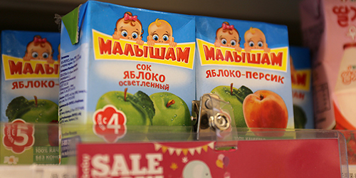 Российские продукты питания завоевывают сердца китайских потребителей
