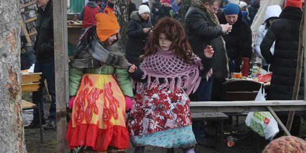Проводы зимы в Украине