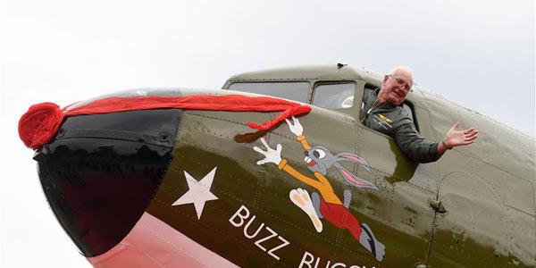 """Повторивший перелет через """"Верблюжий горб"""" транспортный самолет С-47 времен Второй мировой войны навсегда останется в Гуйлине"""