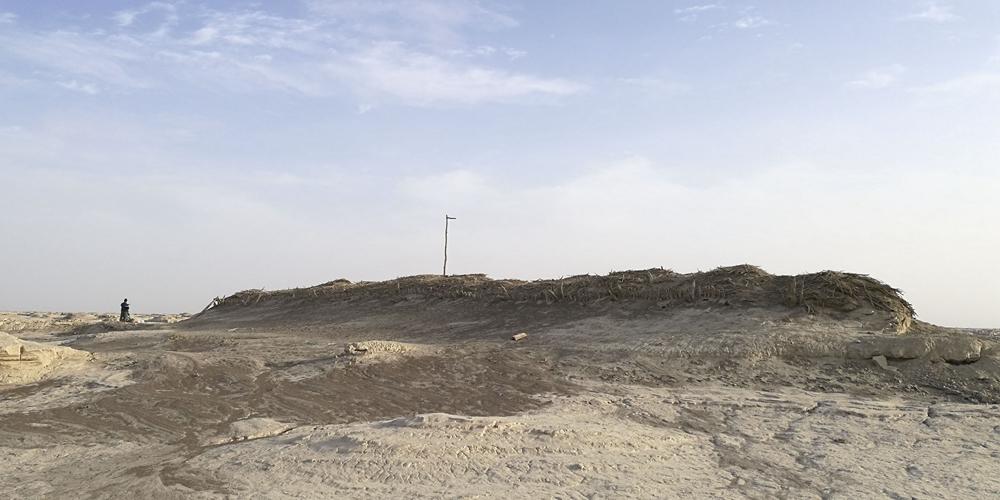 В районе Лобнор в Синьцзяне нашли руины городка 2000-летней давности
