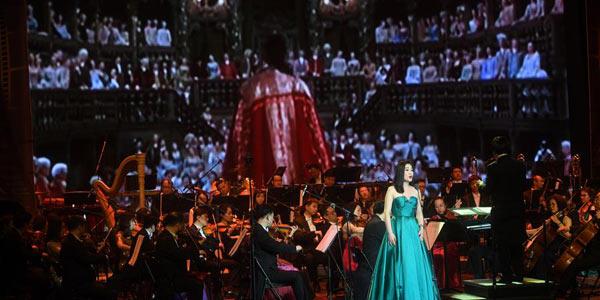 В Пекине прошел концерт, посвященный классическим фильмам мира