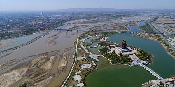 Башня Желтой реки в Цинтунся