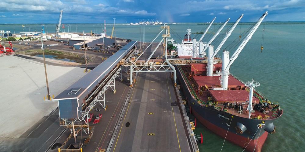 Порт Дарвин -- флагман китайско-австралийского экономического сотрудничества