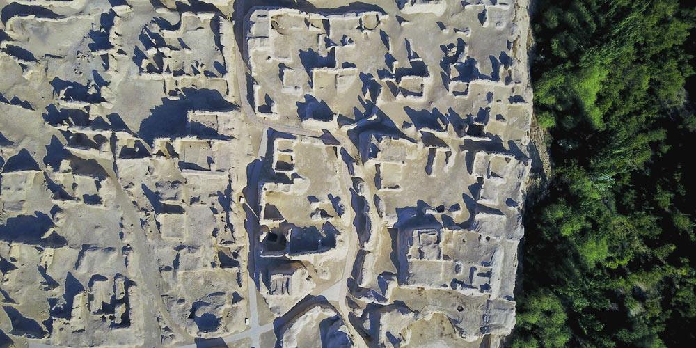 Городище Цзяохэ на древнем Шелковом пути