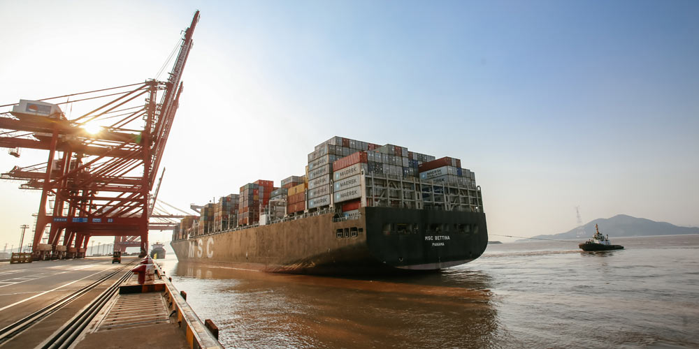 Порт Чжоушань в Нинбо -- современный порт на морском Шелковом пути XXI века