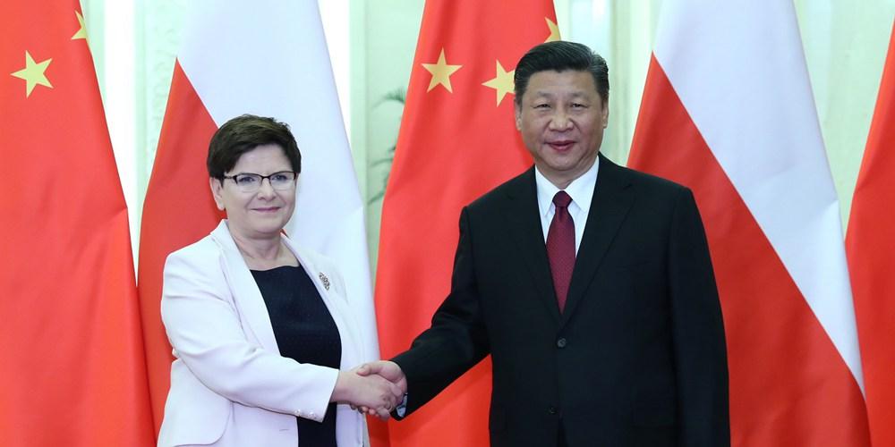 Си Цзиньпин встретился с премьер-министром Польши