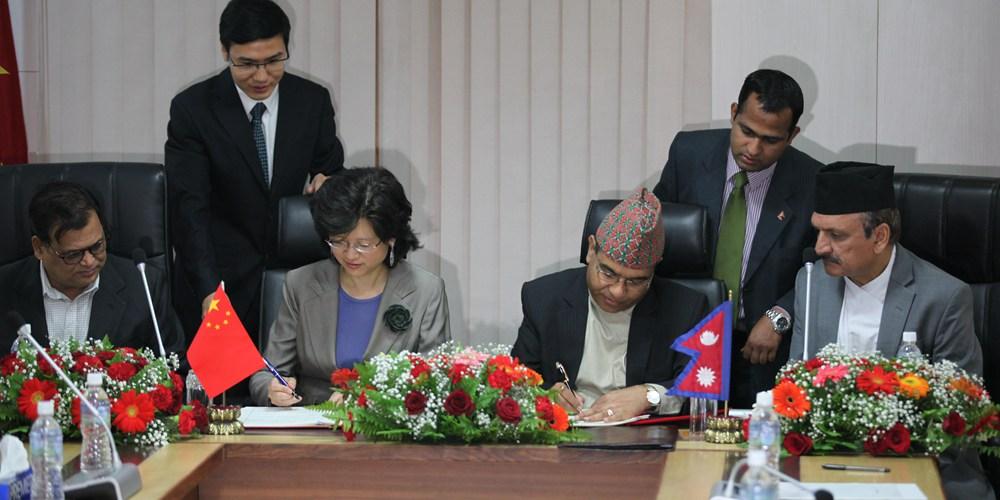 """Китай и Непал подписали меморандум о сотрудничестве в рамках """"Пояса и пути"""""""