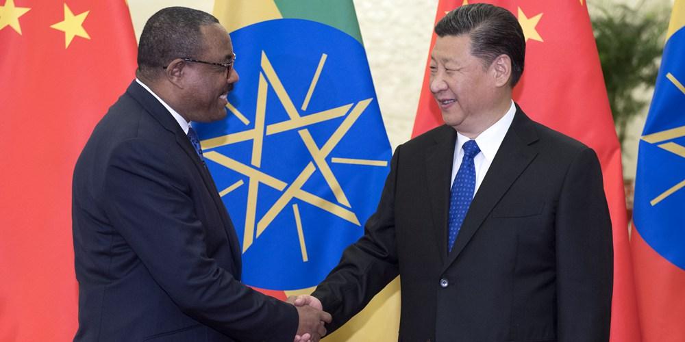 Си Цзиньпин встретился с премьер-министром Эфиопии